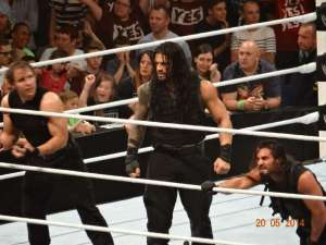 Was happy to watch The Shield (Roman Reigns, Dean Ambrose and Seth Rolllins) LIVE on Raw in London
