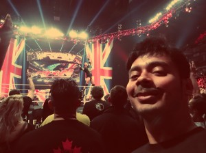 RKO'd on Raw: Selfie with the one and only Randy Orton LIVE on WWE Raw from The O2 in London