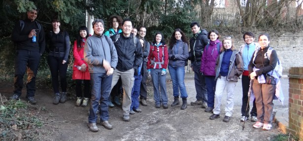 There is so much to learn from individuals around the world... E.g. This trek across Surrey involved folks from UK, India, Pakistan, Columbia, Spain and where not
