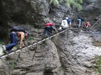Adventure Hiking in Slovakia... One of the more daring acts I have done
