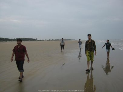 Amazing trip with office folks... Amazing snap... at Mandarmani Sea Beach