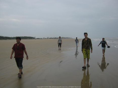Amazing trip with office folks... Amazing snap... at Mandarmani Sea Beach