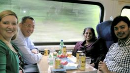 And that's how all business trips should end... Drinks on the train on our way back from Leeds to London (#3VeryFavouritePeopleIHaveWorkedWith)