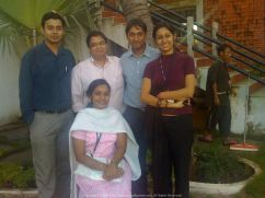 Anu's Thanksgiving Party in Chennai with Pushp, Harsh and Latika