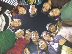 At the famous Panihaati Mela in Sodepur with Sush, Titli, Taboo and our friends