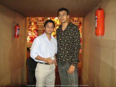 Beral (Joydeep) and I used to go for a whole-night walk bike ride during Durga Pujo every year...
