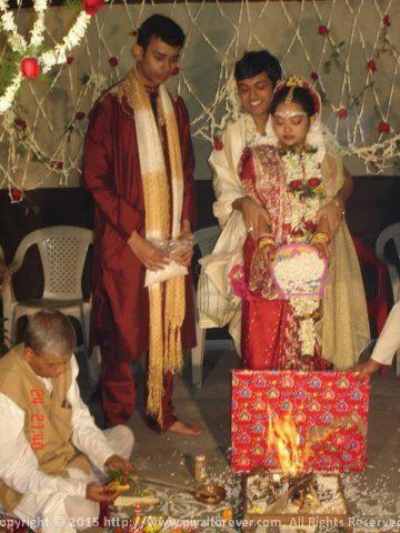 Best man at Sunny Didi's wedding
