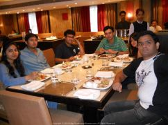 Birthday Lunch in Kolkata with Anirban, Ivy, Aritra, Poulomi and Abhirup