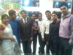 Catch up with old IEM shipmates at Sagar's wedding reception