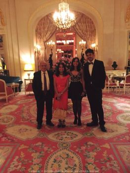 Celebrating Benu Mama and Pinky Mami's Anniversary at the Ritz
