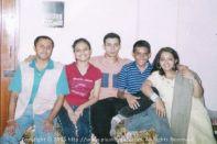 Classic pic with my cousins - Sunny Didi, Bhai, Mimi and Bitan Dada
