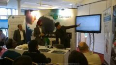"""Delivering a """"high voltage"""" corporate presentation at Ascot UK… #ThankYouIMT for 1000s of rehearsals to perfect the real deal"""
