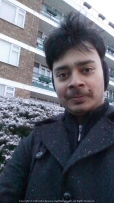 Everyone has a first snowfall experience... This was mine on Feb 01 2015 @ London