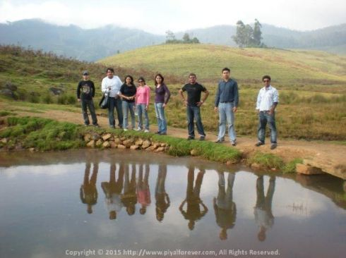 HE-Man (whoever he is) and The Masters of the Universe.... With my CCRAZY Chennai gang in Kodaikanal