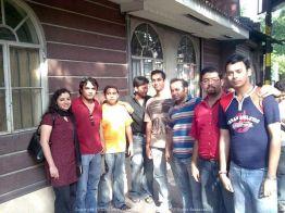 I think that was Saptarshi's treat in Peiping, Park Street (Calcutta)