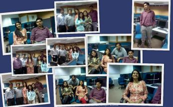 Last day at Satyam... at the Tidel Park Chennai office