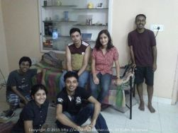 One of our legendary sessions at House No. 149 in BTM, Bangalore during one of my frequent trips