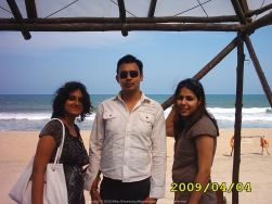 Piyal's Angels... This pic was clicked at MGM Beach Resort on ECR Chennai with Sugandh and Kakoli