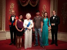 Pleasure to meet the Royal Family ;) in London