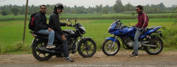 Roadies head-to-head during the memorable Shivanasamudram Bike Trip from Bangalore