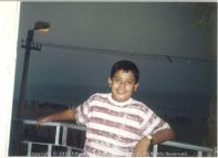 Sizes and appearances change, don't they That's me during school days