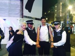 Under arrest on a Saturday Night at Piccadilly Circus London... Lets not get into the details of this one