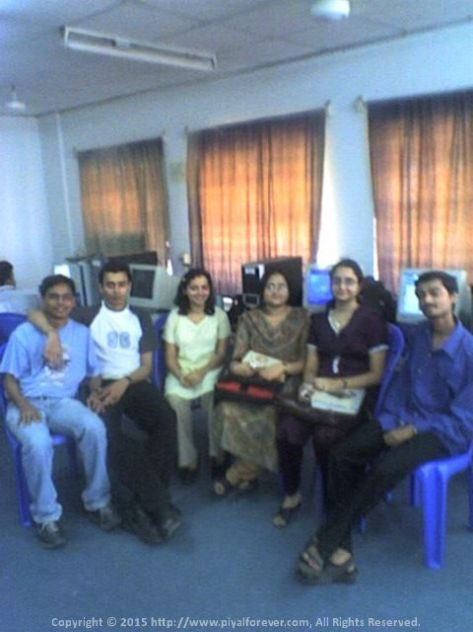 We used to have amazing times in 4th Floor Lab, IEM