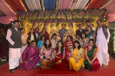 Wedding snap with my extended family