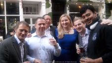 When Thursdays became the New Friday... Drinks near Oxford Street with some of my amazing office colleagues in the UK