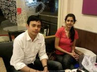 With Mama Cita Had amazing times with Latika in Chennai... especially the escapades after office