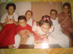 With my wonderful cousins and grandparents at our Bagbazar, Kolkata when we were just kids