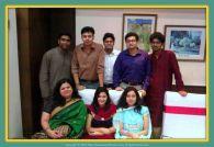 With some key members of my Kolkata office team - We have Rahul. Amrita, Tapamiti, Samrat, Pushkar and Riju here