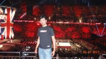 Written in the stars, a million miles away... This was a boyhood dream come true... Watching WWE RAW Live in O2 London